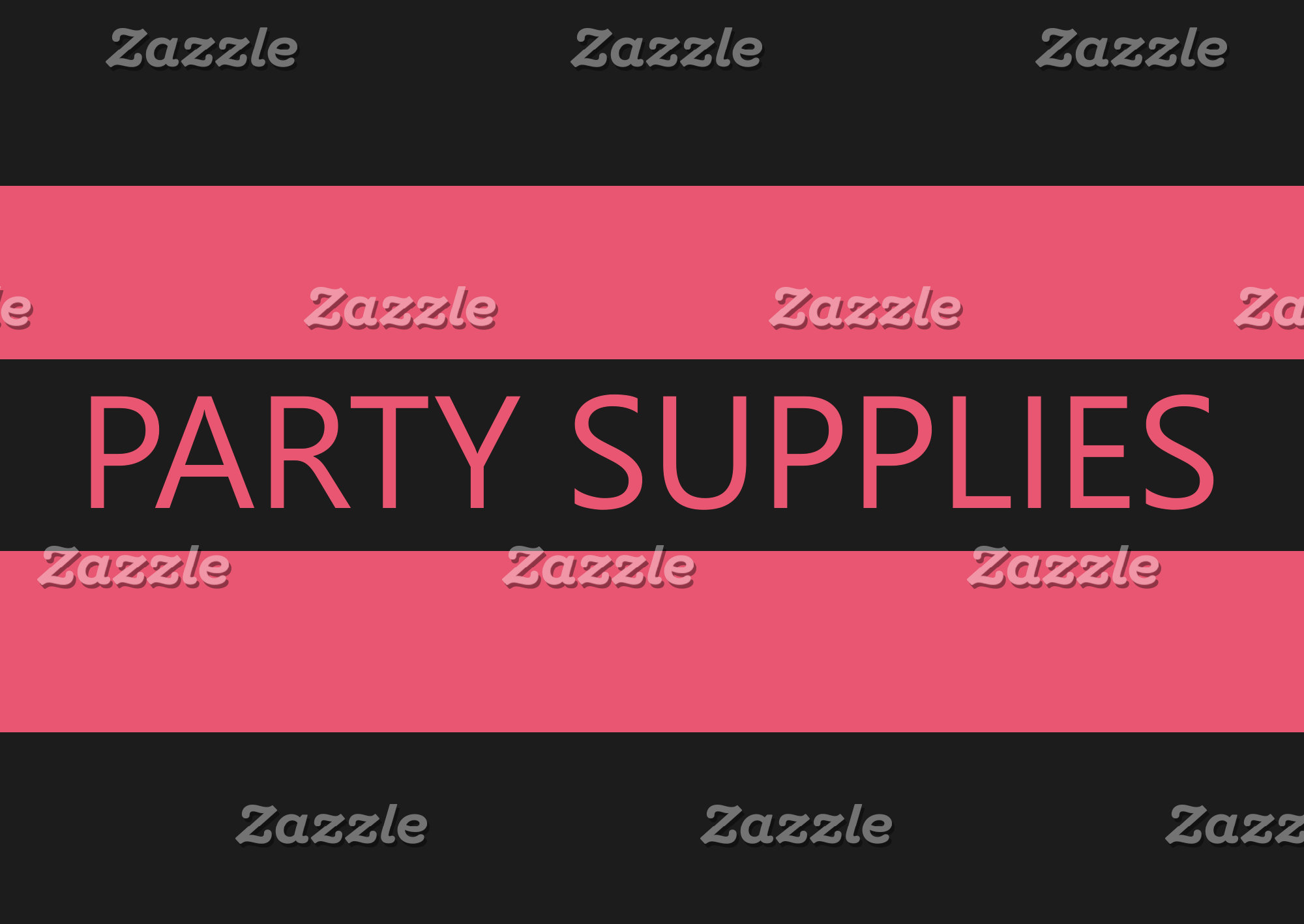 Party & Craft  Supplies