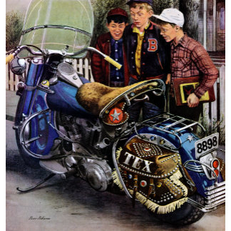 Tex's Motorcycle