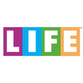 The Game of Life Retro Logo