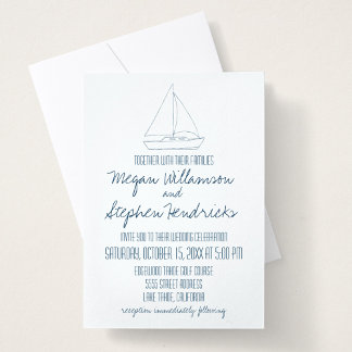 Wedding Sailboat
