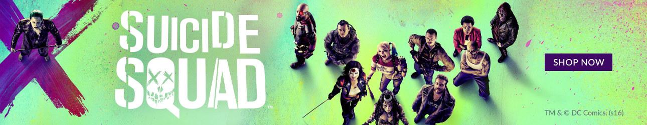 Produits personnalisés officiels the Suicide Squad