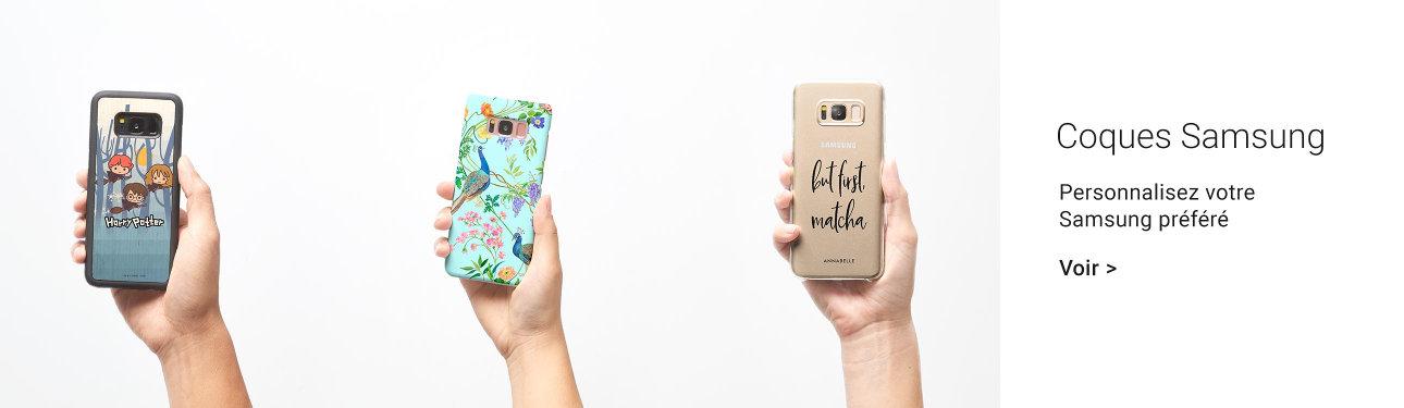 Coques personnalisées pour Samsung
