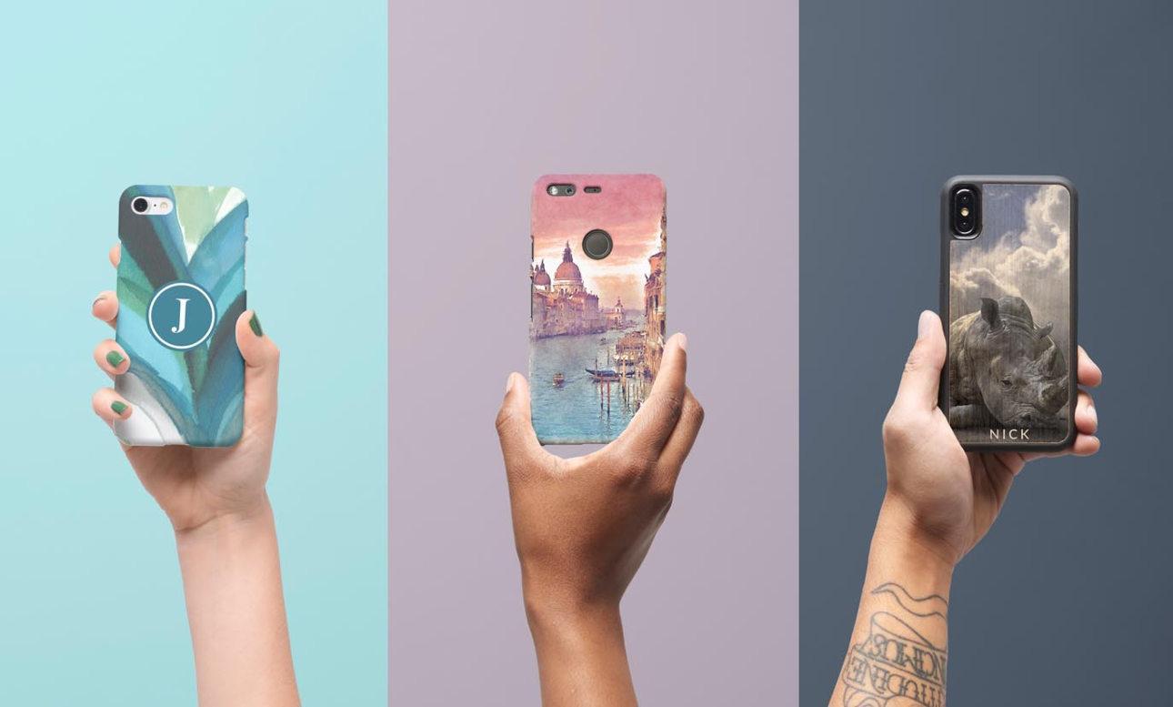 Coques personnalisées pour iPhone, Samsung & Plus