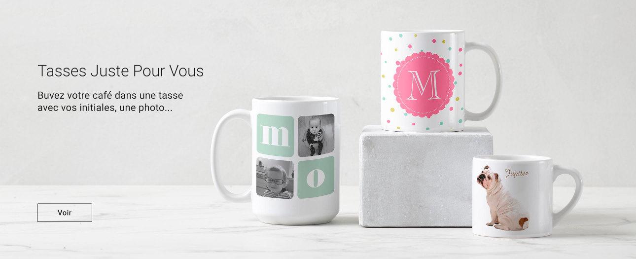 Tasses & Mugs personnalisables