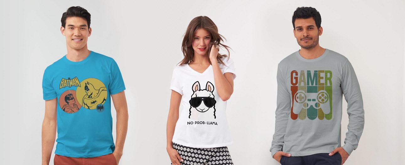 Un, deux, trois... t-shirts !