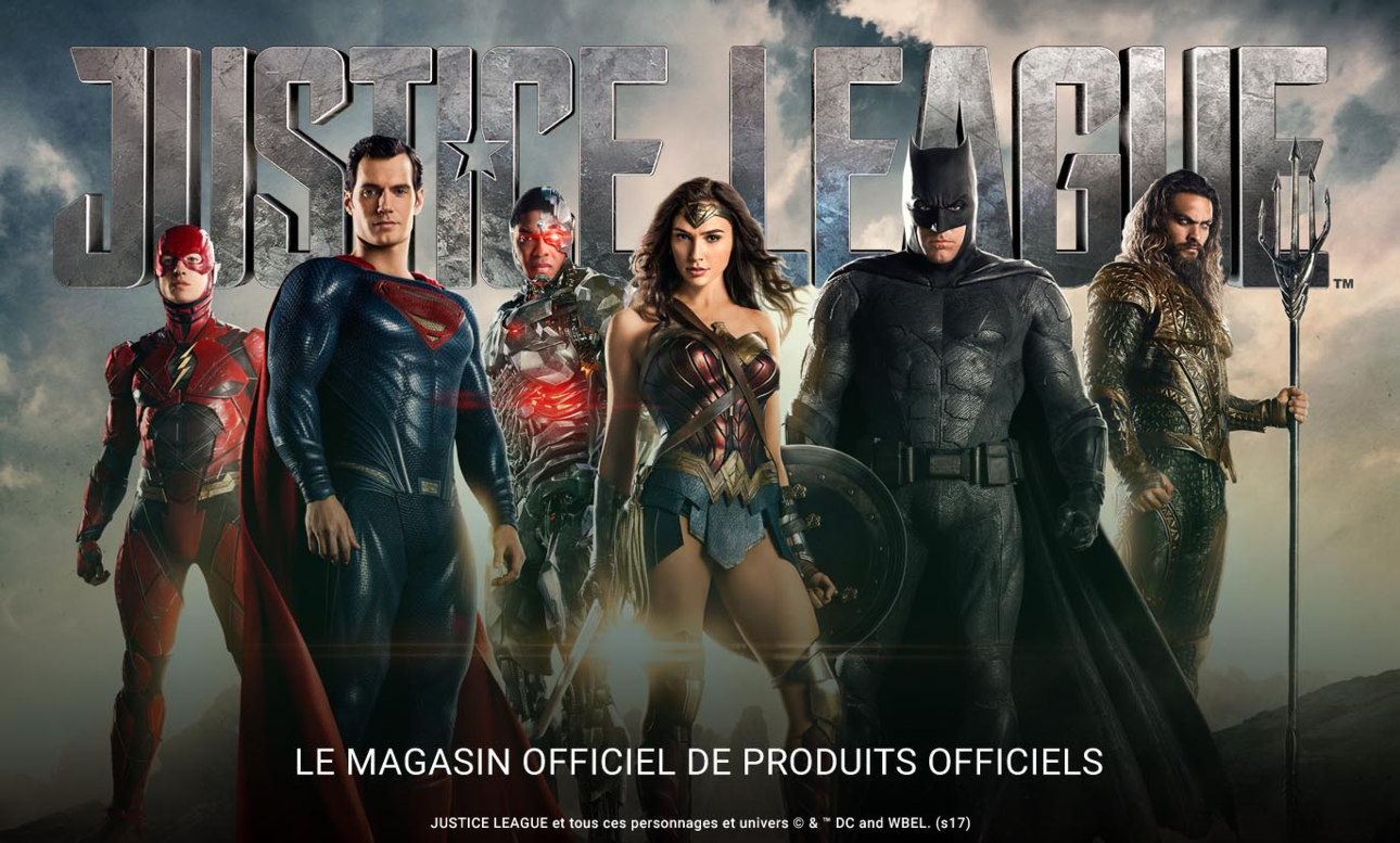 Justice League - Produits officiels