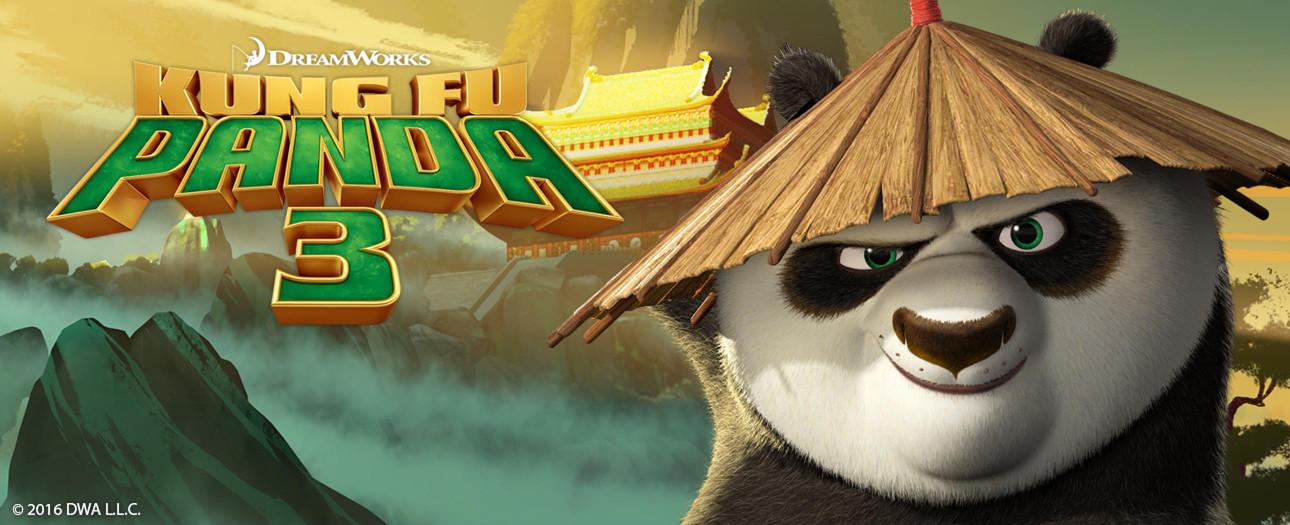 Kung Fu Panda 3 arrive bientôt...