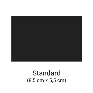 Cartes de visite taille standard - Europe