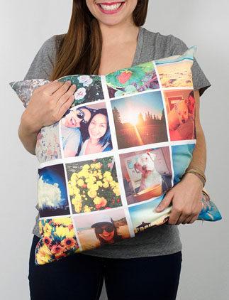 Personnalisez vos coussins avec vos photos, images et textes grace à Zazzle