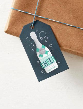 Étiquettes personnalisées pour cadeaux