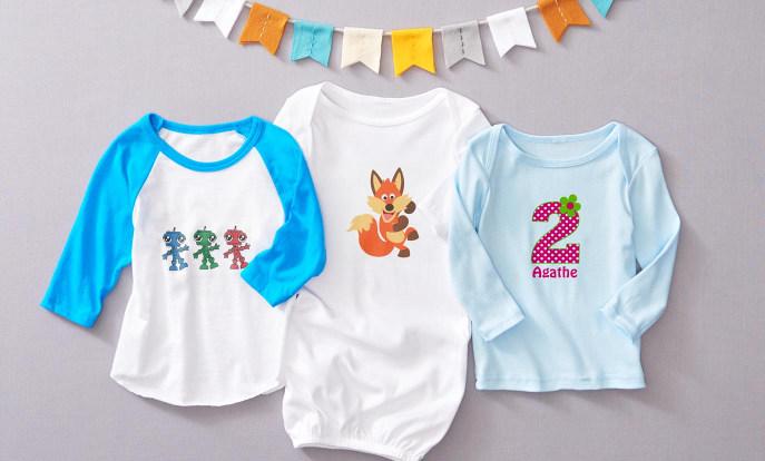 T-shirts pour les tout-petits