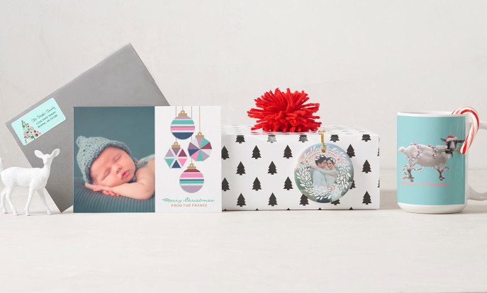 Cartes de vœux de fin d'année