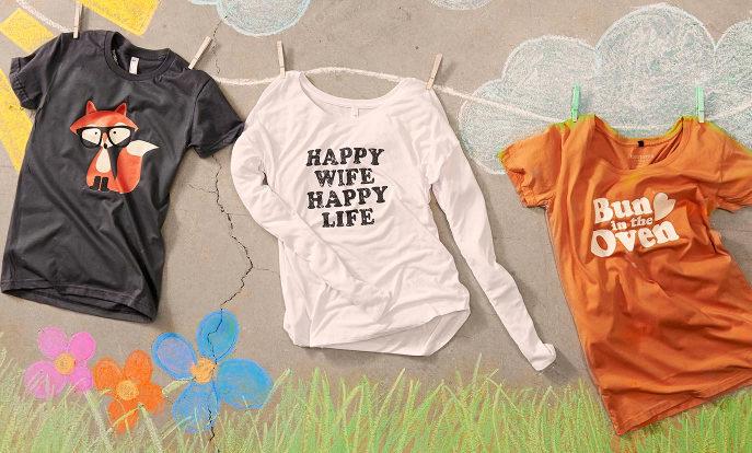 T-shirts, polos, sweat-shirts et vestes