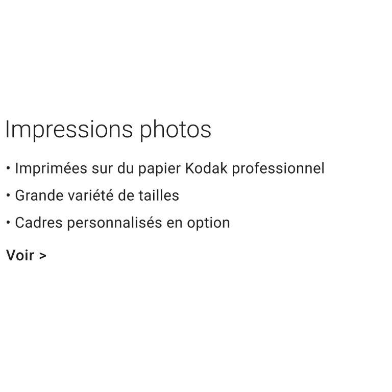 Impressions photos