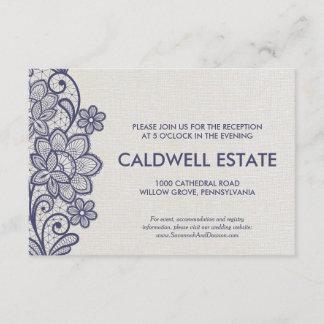 invitations faire part bleu marine et blanc personnalis s. Black Bedroom Furniture Sets. Home Design Ideas