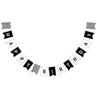 Joyeux Anniversaire Noir Et Blanc
