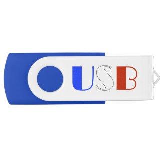 Clé USB 2.0 Swivel couleur France
