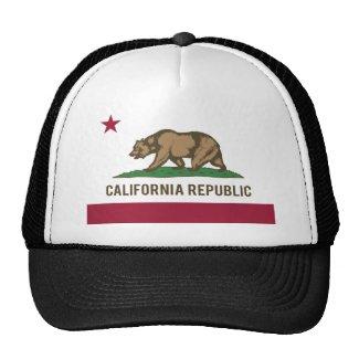 Casquette de camionneur - Drapeau République de Californie