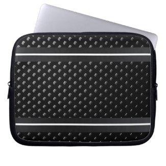"""Housse pour ordinateur portable """"Noire Élégance"""" Housses Pour Ordinateur Portable"""