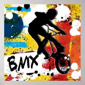 Affiche BMX