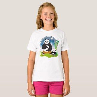 T-shirt ajusté pour fille