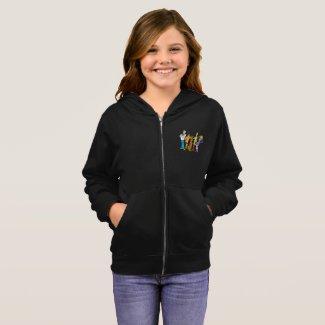 Sweatshirt à capuche basique pour filles, Scooby-Doo™