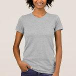 <p>Retour aux basiques. Le t-shirt pour femme le plus vendu par American Apparel est un must-have pour toute garde-robe de dame. Portez-le pour travailler, pour aller dîner ou avec un blazer ou un sweat. Très doux et léger. Choisissez un design existant ou laissez libre cours à votre imagination en créant votre propre t-shirt ! </p> <p>Taille et forme</p> <ul> <li> Le modèle mesure 1.35 m et porte une taille M</li> <li> Coupe cintrée</li> <li> Taille petit - Choisissez 1 ou 2 tailles au-dessus pour plus d'aisance</li></ul> <p>Tissu et entretien</p> <ul> <li> 100 % coton de jersey (la version gris bruyère contient 10 % de Polyester)</li> <li> Col côtelé résistant</li> <li> Fabriqué aux États-Unis</li> <li> Lavable en machine à l'eau froide</li> </ul>