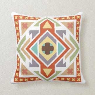 Coussin déco, motif tribal Southwestern