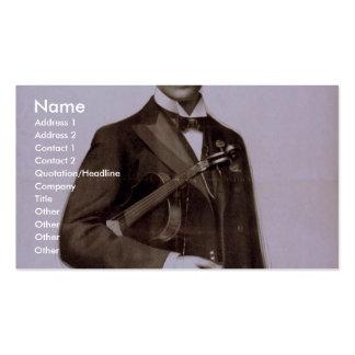 Svedrofsky et son théâtre d orchestre rétro carte de visite