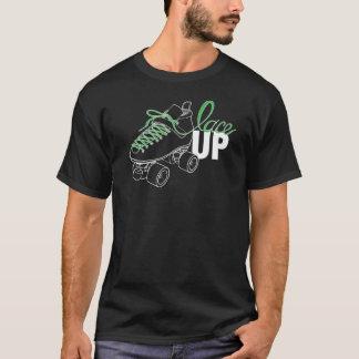 SVRG lacent le T-shirt de l'encolure ras du cou
