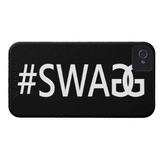 #SWAG/citations drôles et fraîches de SWAGG, étiqu Étui iPhone 4
