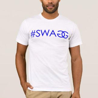 #SWAGG (bleu) T-shirt