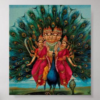 Swami de Sri Shanmukaha Subramania par le rajah Ra Poster