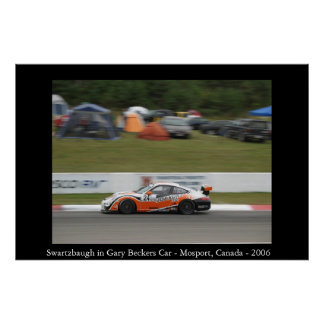Swartzbaugh dans la voiture de Gary Becker Poster