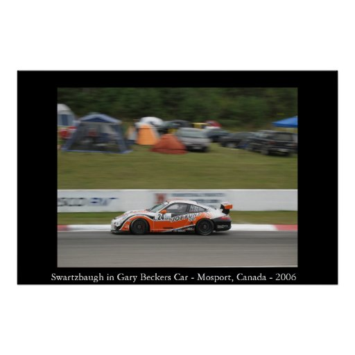 Swartzbaugh dans la voiture de Gary Becker Affiches