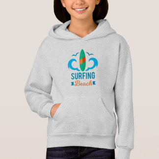 Sweat A Capuche Fille Surf