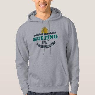 Sweat A Capuche Homme Blanc Basic Surf