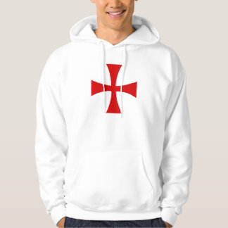 Sweat Blanc Croix Pattée