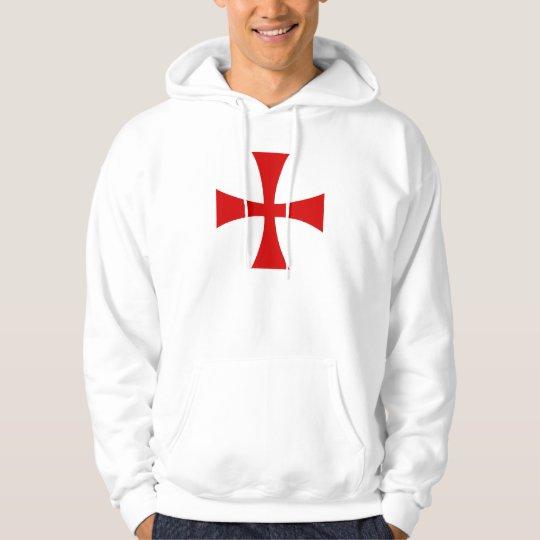 Sweat Blanc Croix Pattée