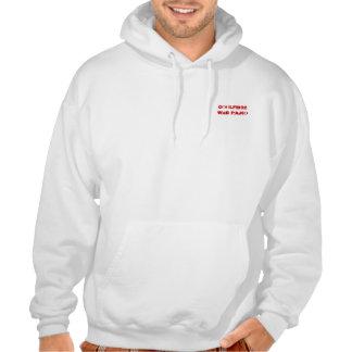 Sweat capuche Blanc Sweatshirt À Capuche