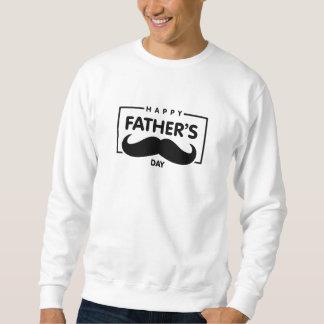 Sweat Homme Blanc Basic Fête des pères