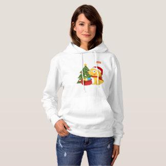 Sweat - shirt à capuche 2 de Noël des femmes de