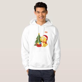 Sweat - shirt à capuche 2 de Noël des hommes de