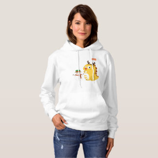 Sweat - shirt à capuche 3 de Noël des femmes de