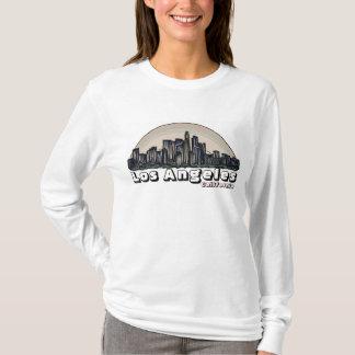 Sweat - shirt à capuche artsy d'horizon de dames
