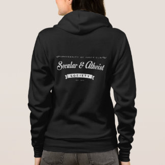 Sweat - shirt à capuche athée de dames de société