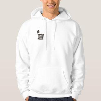 Sweat - shirt à capuche avec le petit logo de pull avec capuche