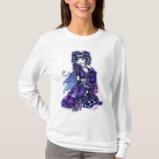 Sweat - shirt à capuche blanc féerique hérissé de