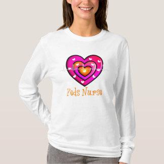 Sweat - shirt à capuche bleu Artsy de coeur