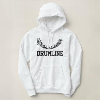 Sweat - shirt à capuche brodé de Drumline